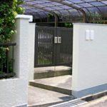 名張市 O様邸 フェンス・門扉取替え、外壁塗装工事