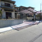 名張市 M様邸 駐車場増設 及び エクステリア工事