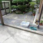 名張市 H様邸 立水栓 ガーデンパン 暗渠排水 新設工事