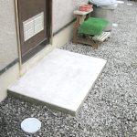名張市 K様邸 外部排水管 及び 桝、給水管やり替え工事